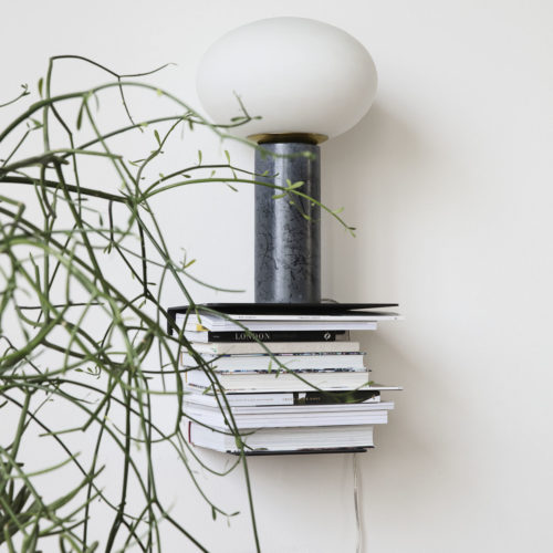 House Doctor - Shelf, Book, Black, l: 32 cm, w: 25 cm, h: 23 cm