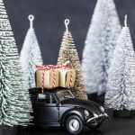 House Doctor - Dekoration, Xmas Car - svart