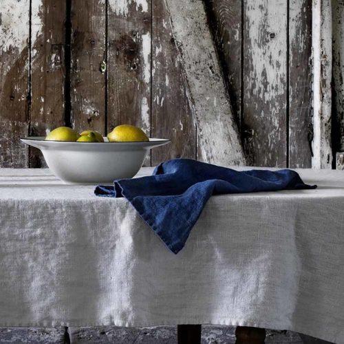 Lovely Linen - Napkin 45x45 Midnight blue 4-pack