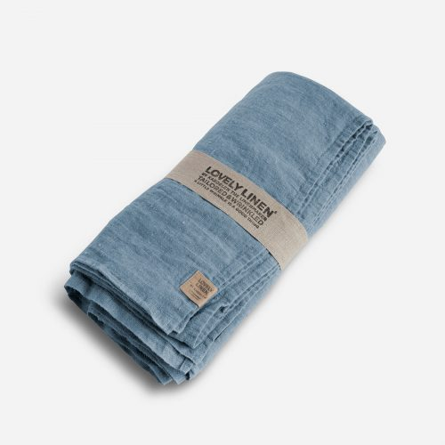 Lovely Linen - Lovely Linen Duk 150/250 Dusty Blue