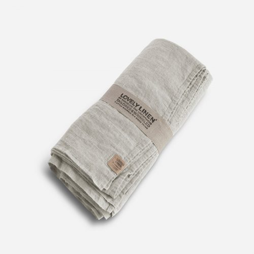 Lovely Linen - Duk Lovely Light Grey 145x300