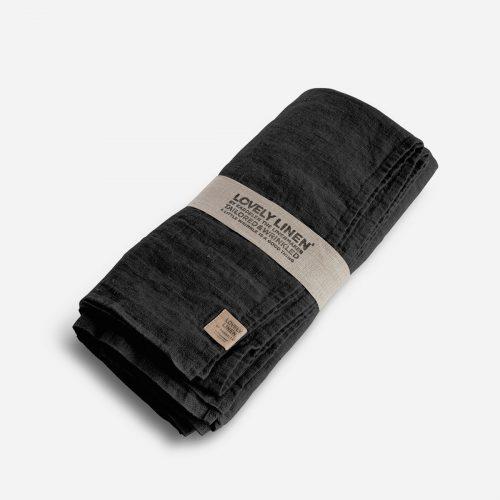 Lovely Linen - Duk Lovely Dark Grey 145x250