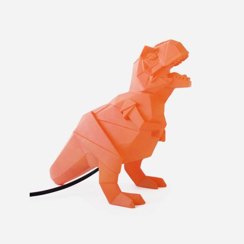 House of Disaster - Nattlampa Dino orange