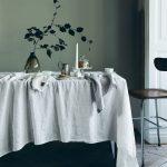 Lovely Linen - Servett Lovely Light Grey 45x45 4-pack