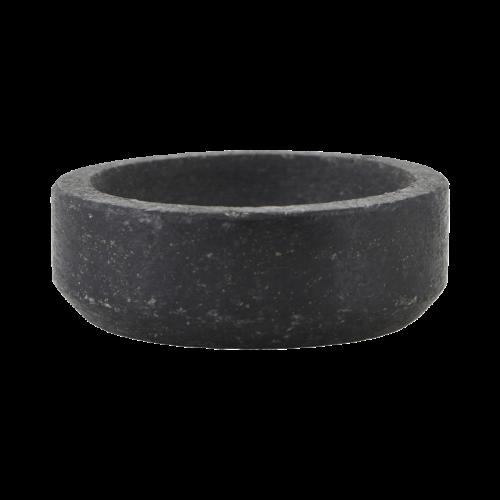 Nicolas Vahé - Bowl, Black Stone, dia: 7,5cm, h: 2,5cm