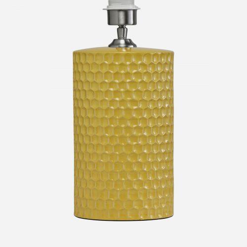PR Home - Honeycomb Lampfot Gul 52cm