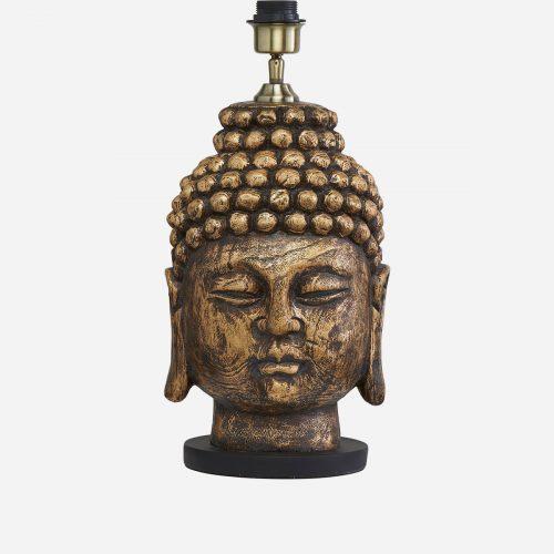 PR Home - Buddha Lampfot Antik mässing 54cm