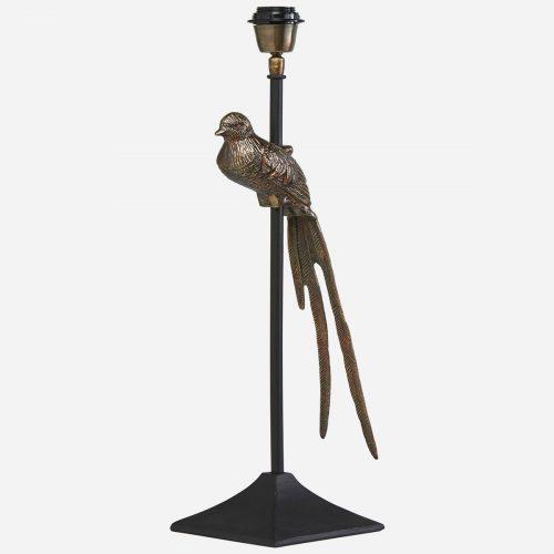 PR Home - Birdie Lampfot Svart/mässing 70cm