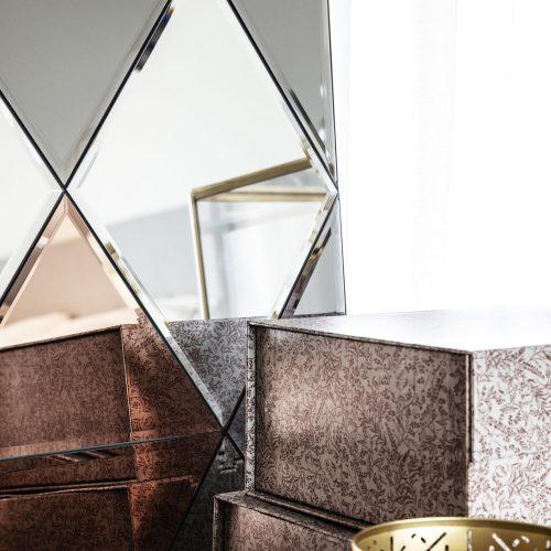 House Doctor - Spegel Rhomb