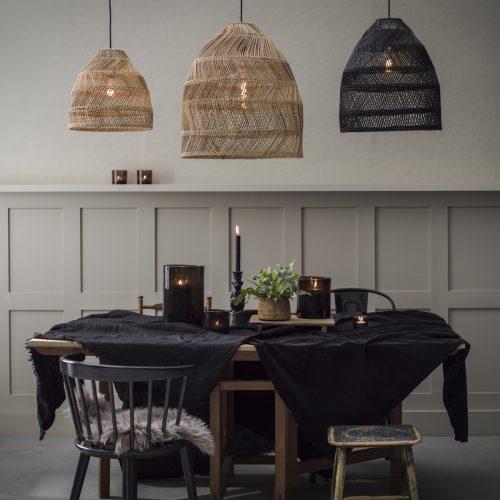 PR Home - Maja Takskärm Wicker Natural 53cm