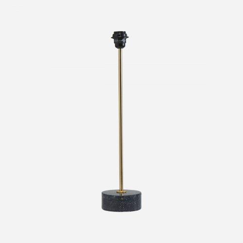 PR Home - Terazzo Lampfot Blåsvart 57cm