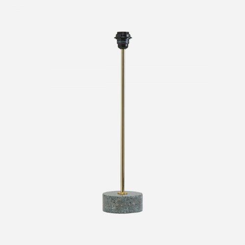 PR Home - Terazzo Lampfot Grå 57cm