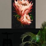 VanillaFly - Poster Pink Protea