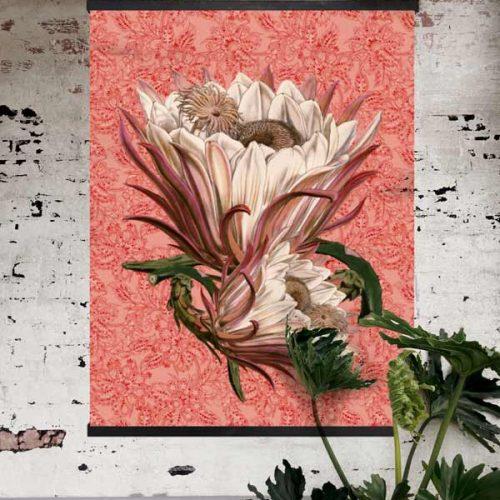 VanillaFly - Poster Rosa Paisley