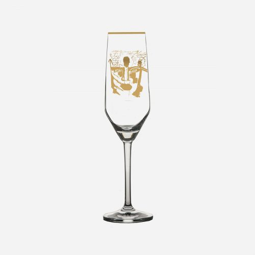 Gynning Design - Golden Dream, Champagne glas - Gold