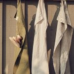 Lovely Linen - Kökshandduk Avokado