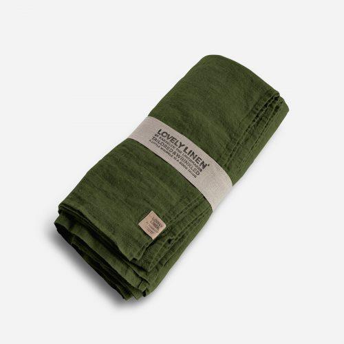 Lovely Linen - Duk Lovely Jeep Green 145x300