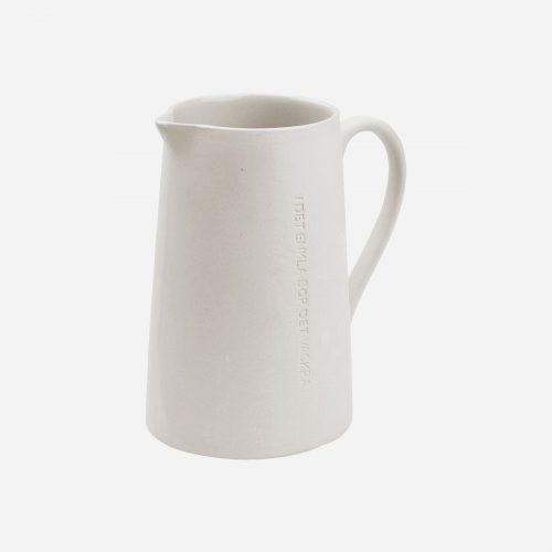 Ernst - Mjölkkanna - vit