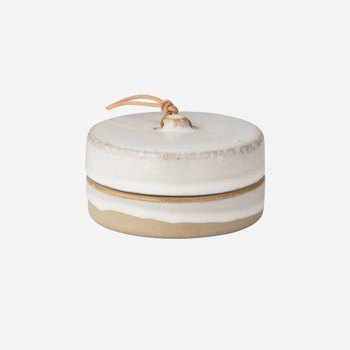 Ernst - Keramikförvaring med lock, liten