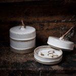 Ernst - Keramikförvaring med lock, stor