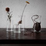 Ernst - Glasvas med lock, mellan