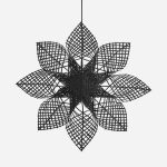PR Home - Anna Star Svart 82cm