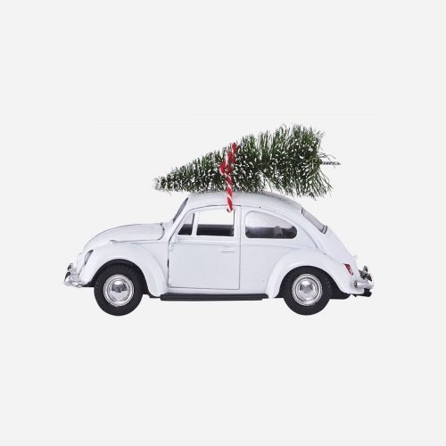 House Doctor - Dekoration, Xmas Car - vit