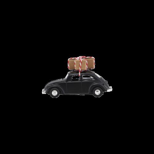 House Doctor - Dekoration, Mini Xmas Car - svart