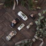House Doctor - Dekoration, Mini Xmas Car - vit