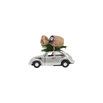 House Doctor - Dekoration, Mini Xmas Car - krom