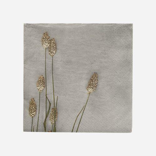 House Doctor - Servett, Grass 2, Ljusgrå