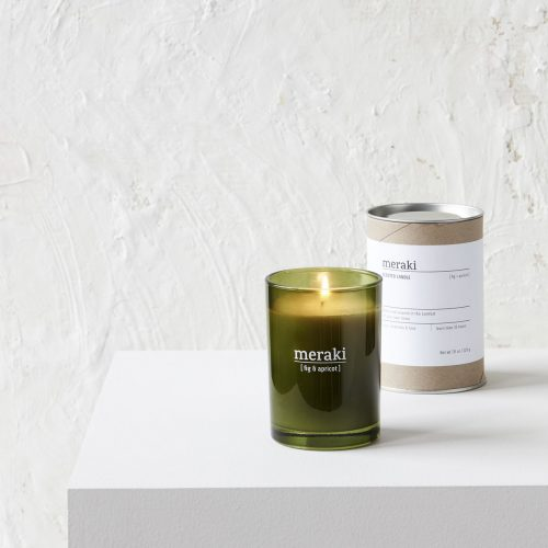 Meraki - Scented candle, Fig & apricot