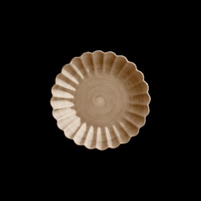 Mateus - Oyster Tallrik 20cm Cinnamon
