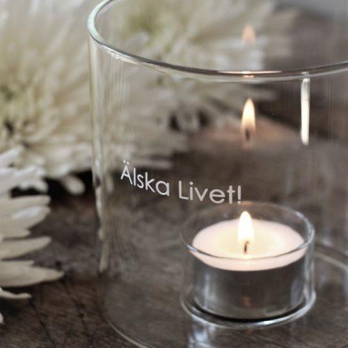 Majas Cottage - Älska Livet! Melina & Signes lykta