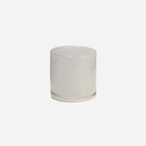 Olsson & Jensen - Nilla ljuskopp vit 8 cm