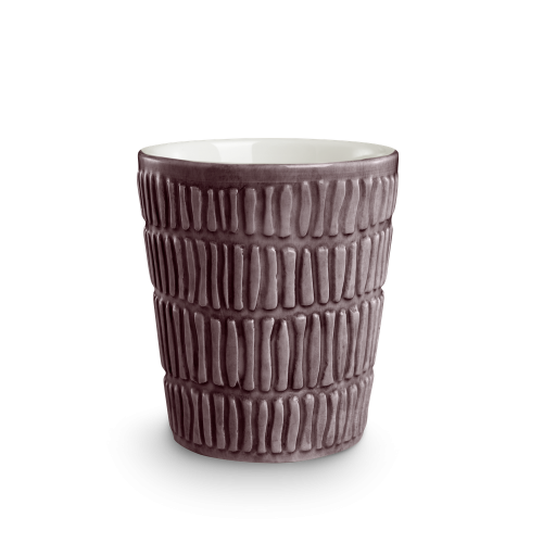Mateus - Stripes Mugg 30cl Plommon