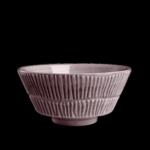 Mateus - Stripes Skål 15 cm Plommon