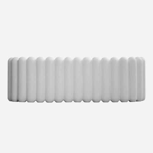 DBKD - MIST white oval