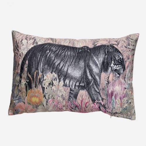 Mogihome - Kudde tiger garden puder 40x60