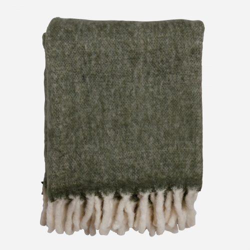 Mogihome - Pläd Morgan grön 130x170