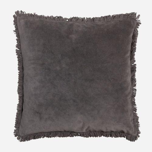 Mogihome - Kudde Frans Grå 50x50