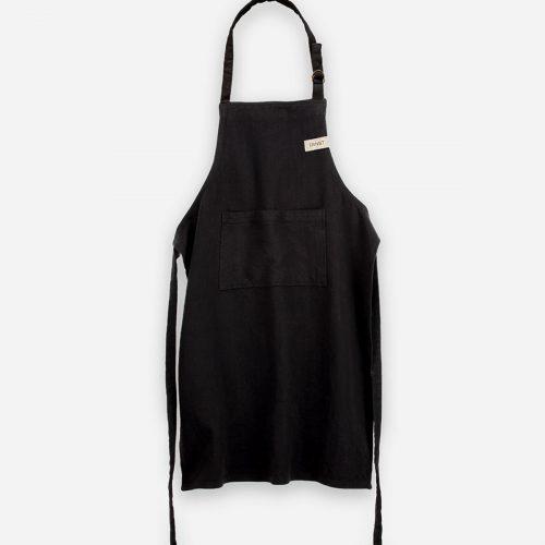 Ernst - Förkläde högt, svart