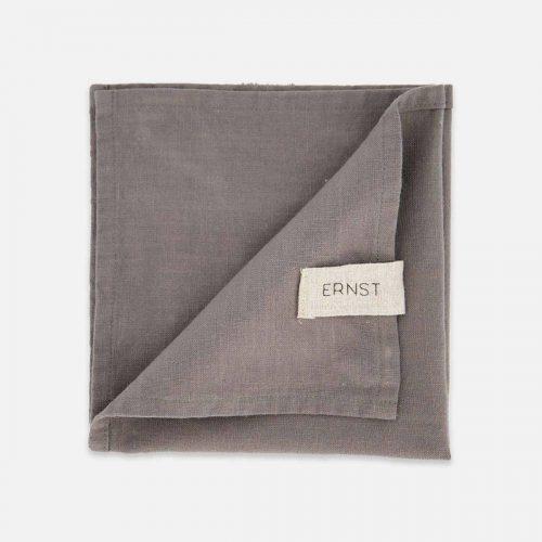 Ernst - Servett tyg grå 2-p