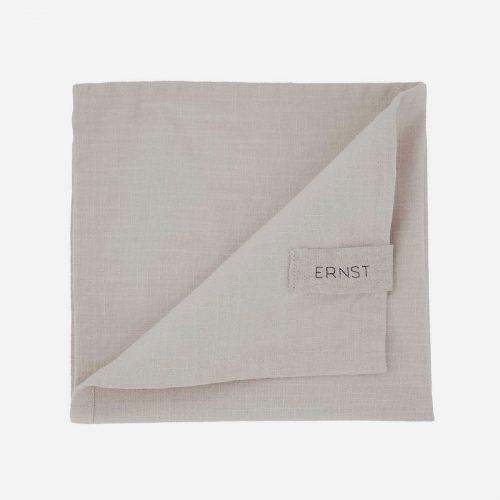 Ernst - Servett tyg beige 2-p