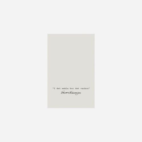 "Ernst - Tändsticksask ""Enkla"", beige, 24-p"