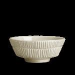 Mateus - Stripes skål 15*6cm/50cl Sand