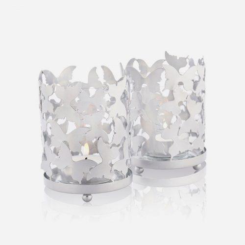 Gynning Design - Fjärilslykta silver