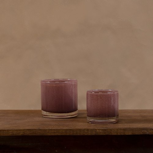 Olsson & Jensen - Nilla ljuskopp ljus plommon 10 cm